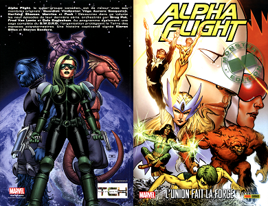 Alpha Flight - Tome 1 - L'Union Fait la Force