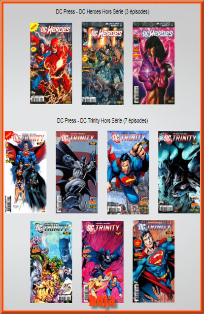MégaPack DC Comics 440 Tomes HD CBR [COMIC][MULTI]