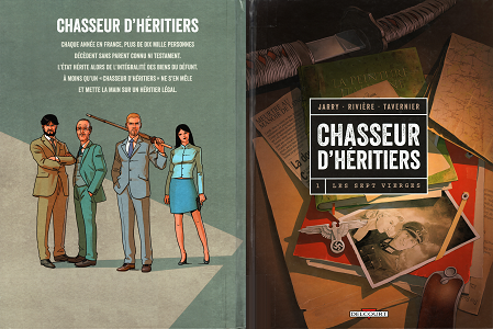 Chasseur D'h�ritiers [Tome 01] [BD]