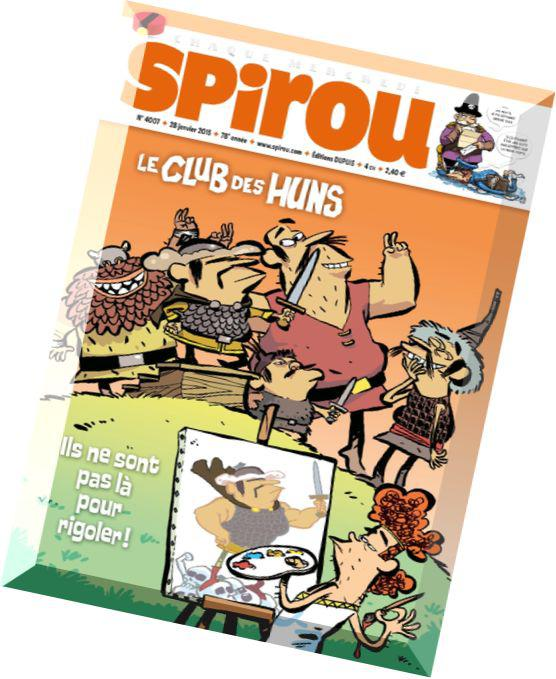 Le Journal de Spirou No.4007