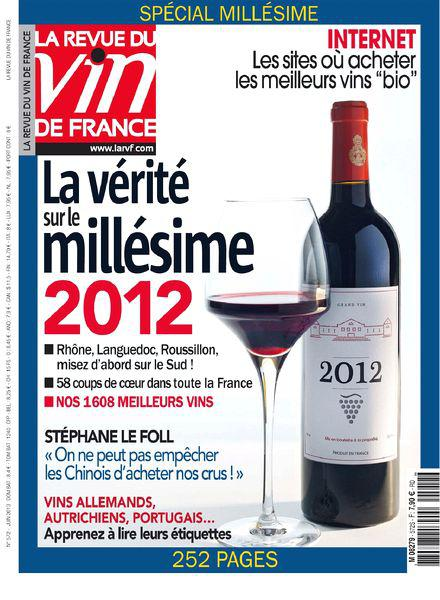 La Revue du Vin de France No.572