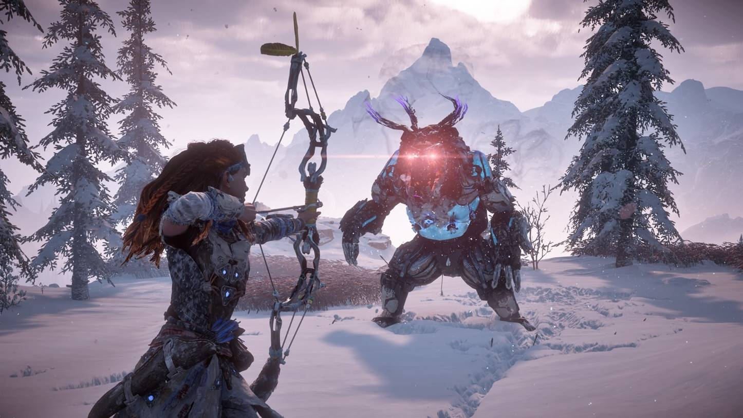 Horizon Zero Dawn graphisme