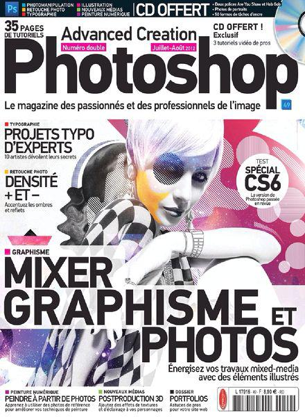 Advanced Creation Photoshop Magazine No.49