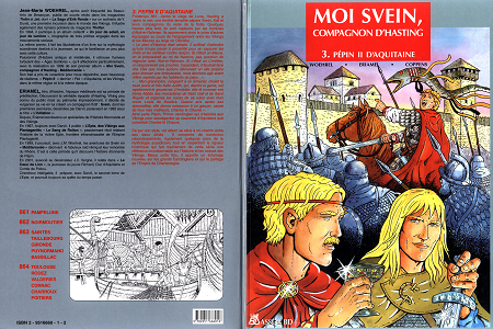Moi Svein - Compagnon d'Hasting - Tome 3 - Pépin II d'Aquitaine