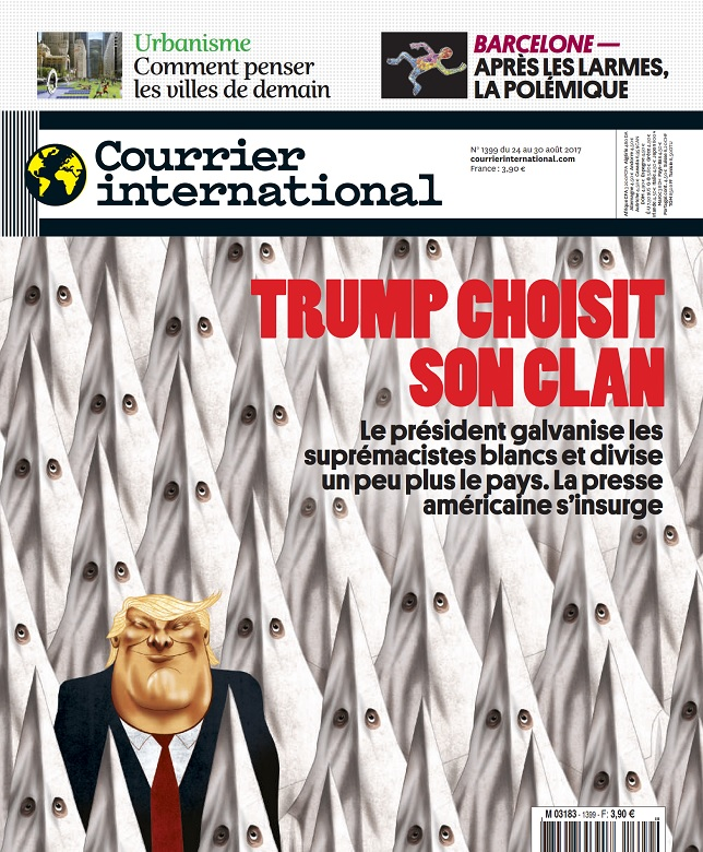 Courrier International N°1399 Du 24 au 30 Août 2017