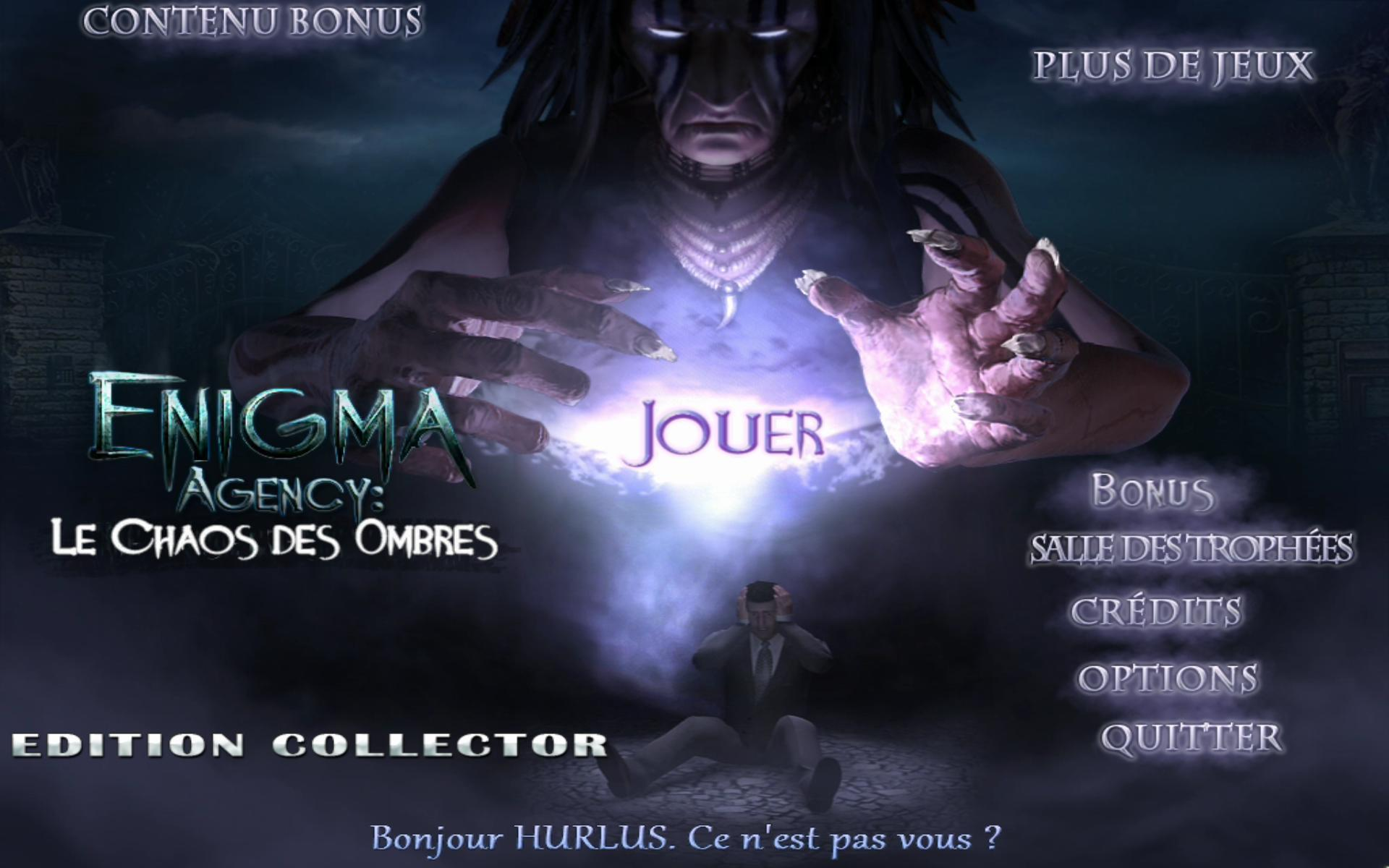Enigma Agency: Le Chaos des Ombres Edition Collector  [PC] [MULTI]