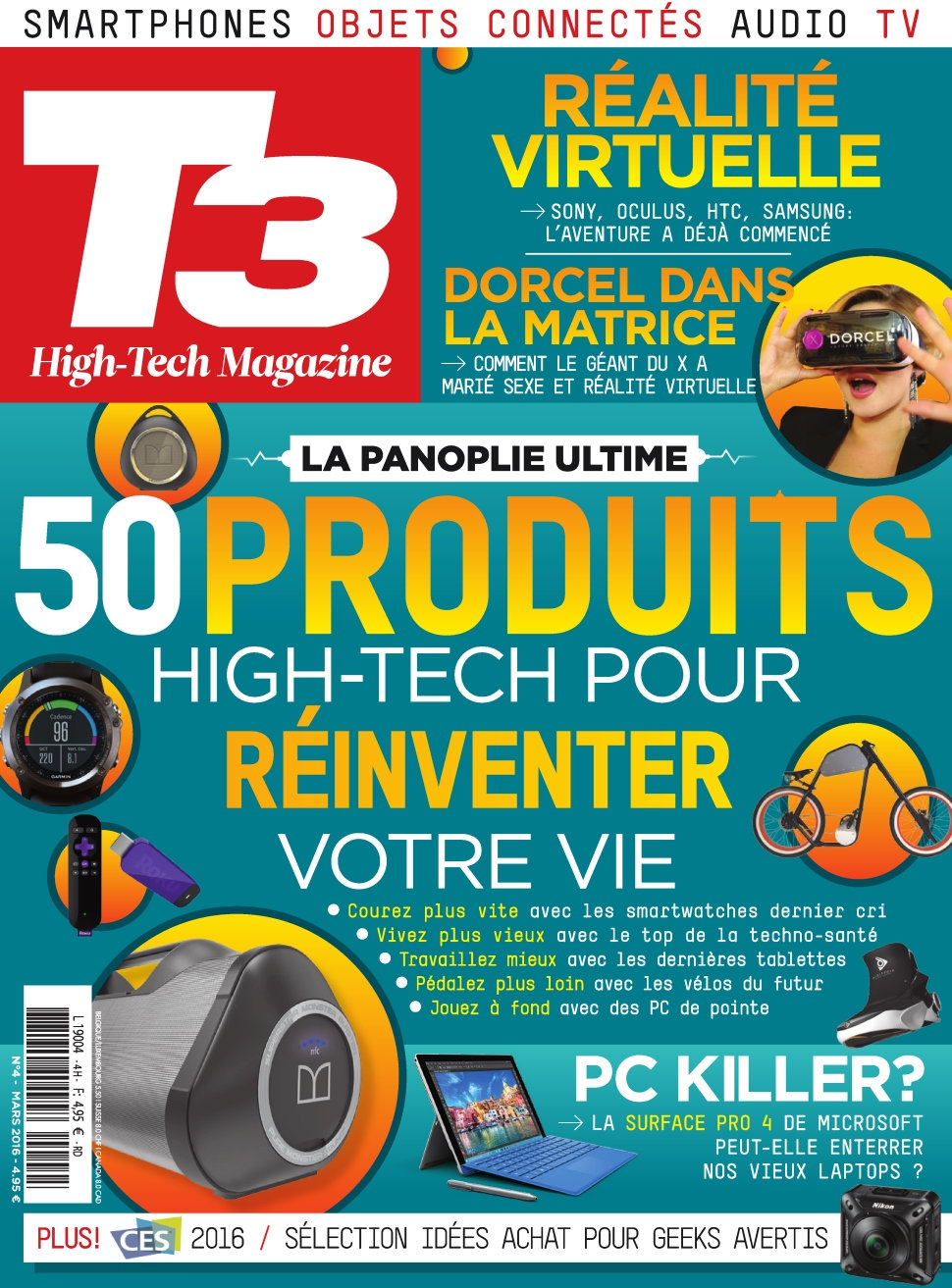 T3 Hight Tech Magazine N°4 - Mars 2016