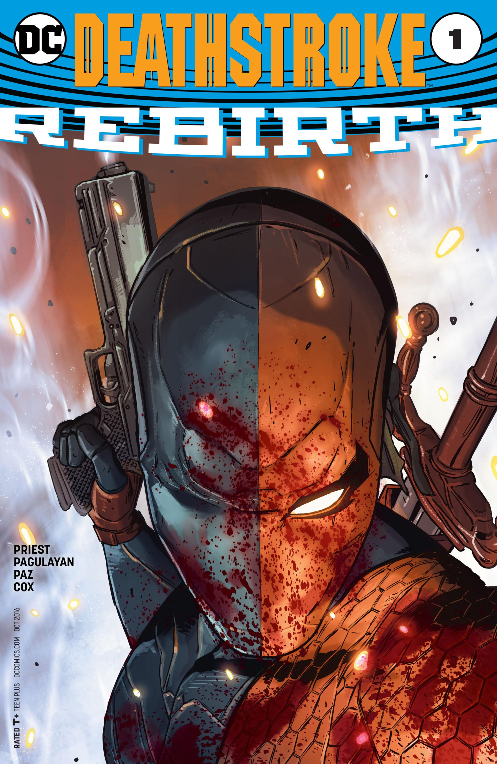 Deathstroke Rebirth [Tome 01] [COMICS]