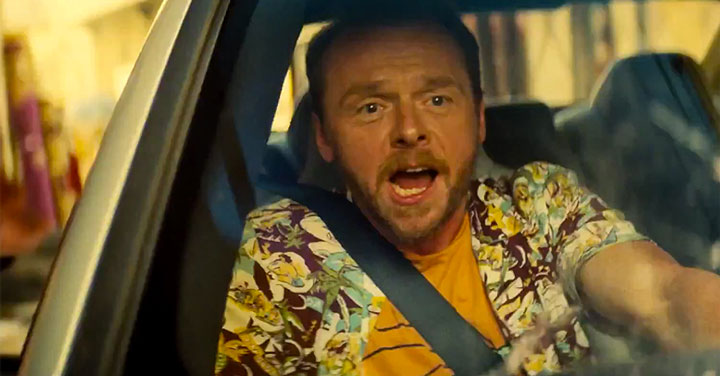 Simon Pegg Mission : Imposible Rogue Nation