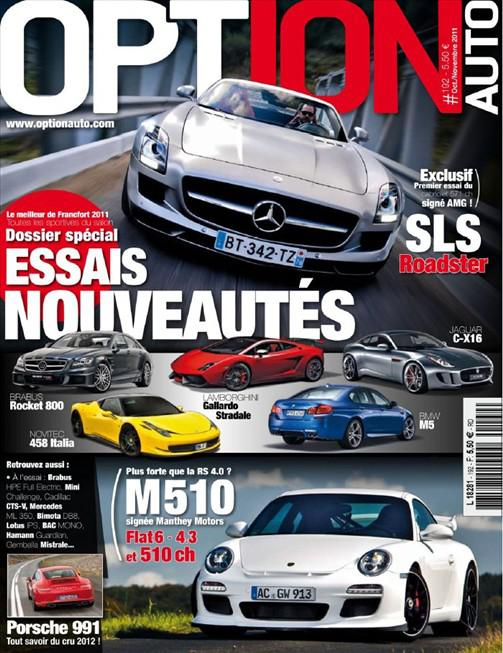 Option Auto N°192 - Octobre-Novembre 2011