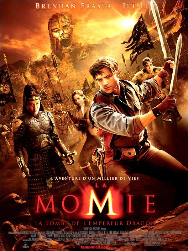 La Momie : la Tombe de l'Empereur Dragon [BDRiP] [FRENCH] [MULTI]