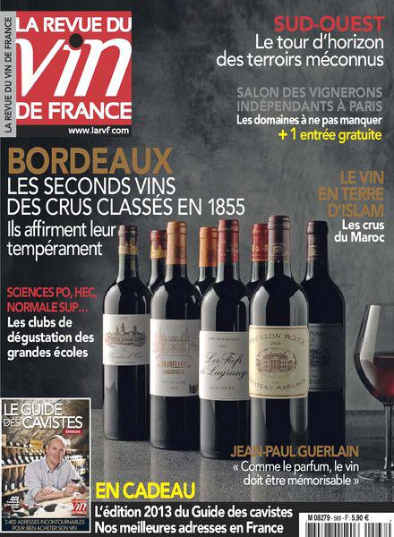 La Revue du Vin de France No.566