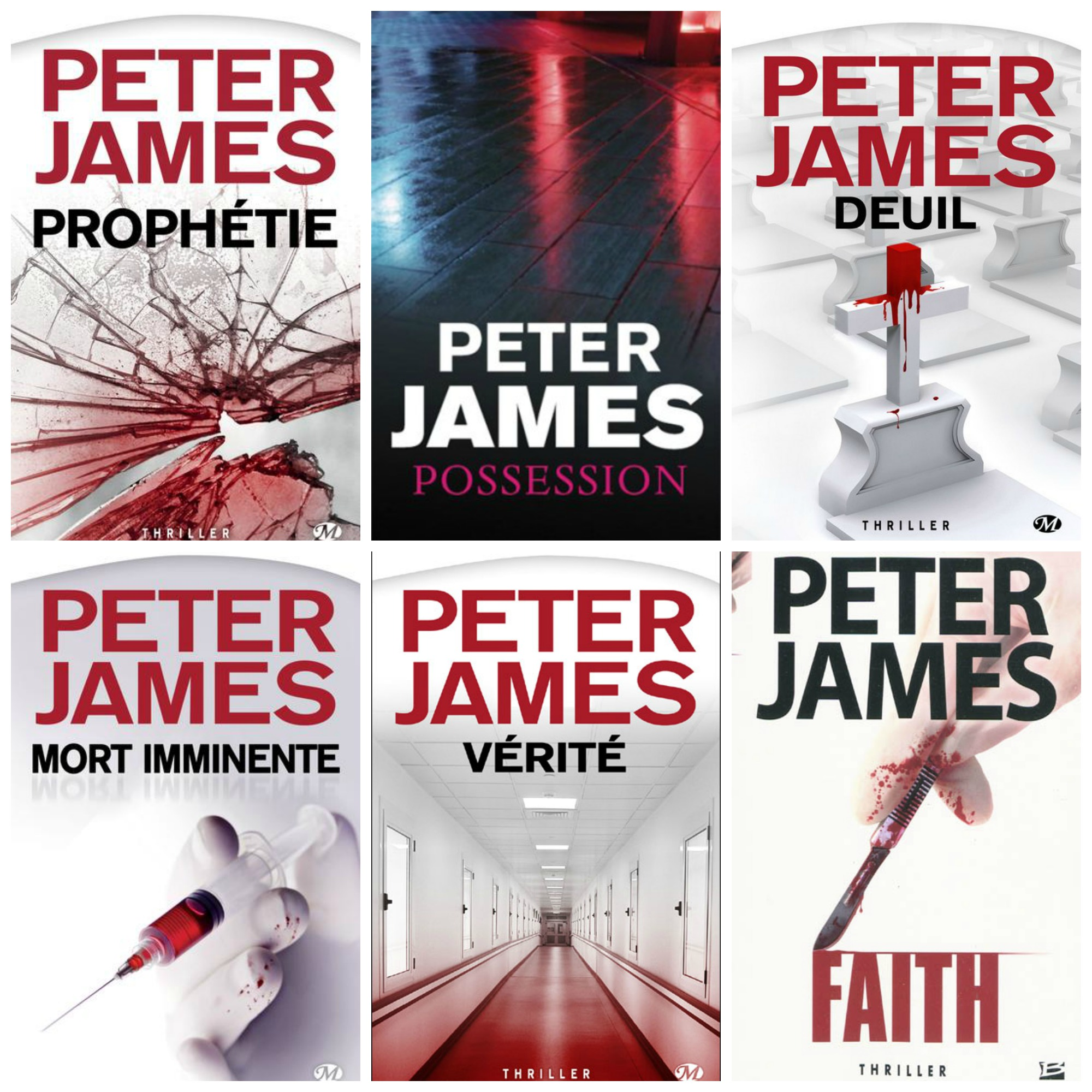 Peter James - Roy Grace [ 6 Epubs]