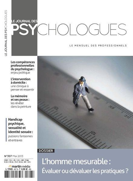 Le Journal des Psychologues No.307