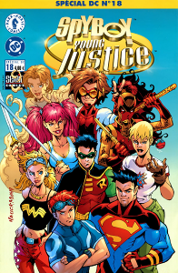 Special DC - Tome 18 - Spyboy Young Justice