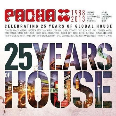 Pacha - Celebrating 25 Years Of Global House (3CD) (2013) [MULTI]
