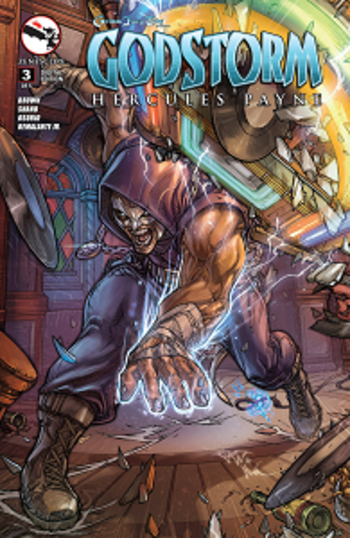 Grimm Fairy Tales Presents - Godstorm