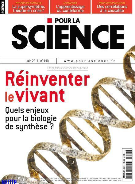 Pour la Science No.440