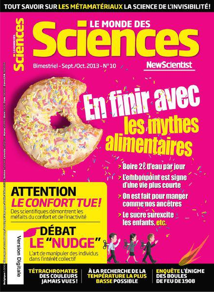 Le Monde des Sciences No.10