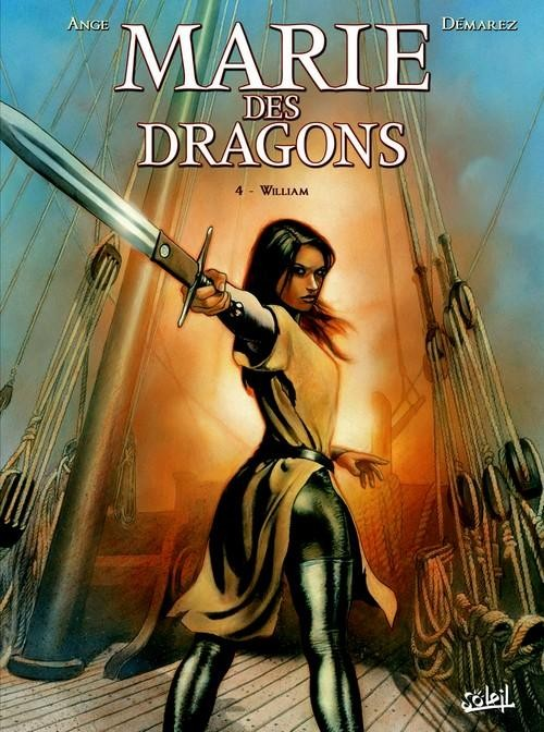 Marie des dragons - complet - 05 tomes [HD]
