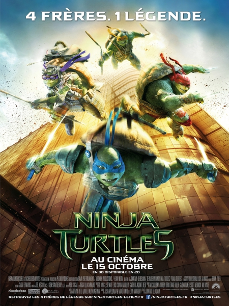 Ninja Turtles en streaming vk filmze