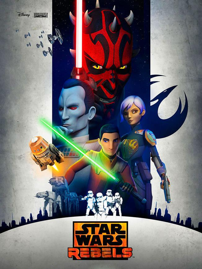 Star Wars Rebels - Saison 3 VOSTFR WEBRip