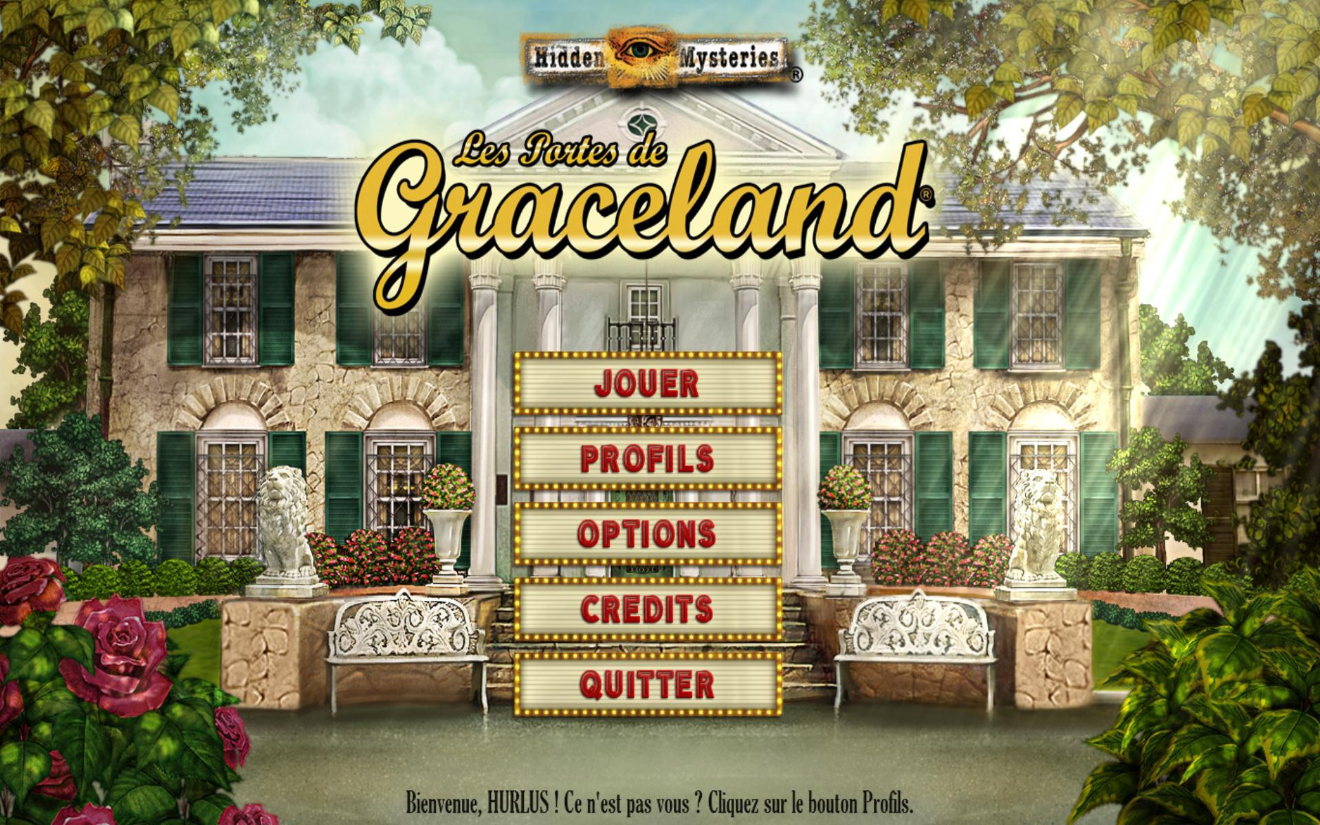 Hidden Mysteries: Les Portes de Graceland [PC] [MULTI]