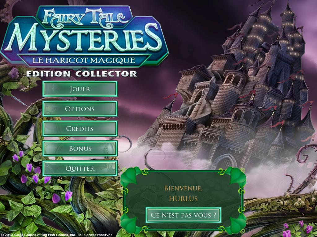 Fairy Tale Mysteries: Le Haricot Magique Edition Collector [PC] [MULTI]