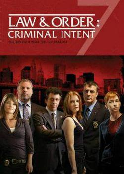 Law And Order: Criminal Intent – Saison 7