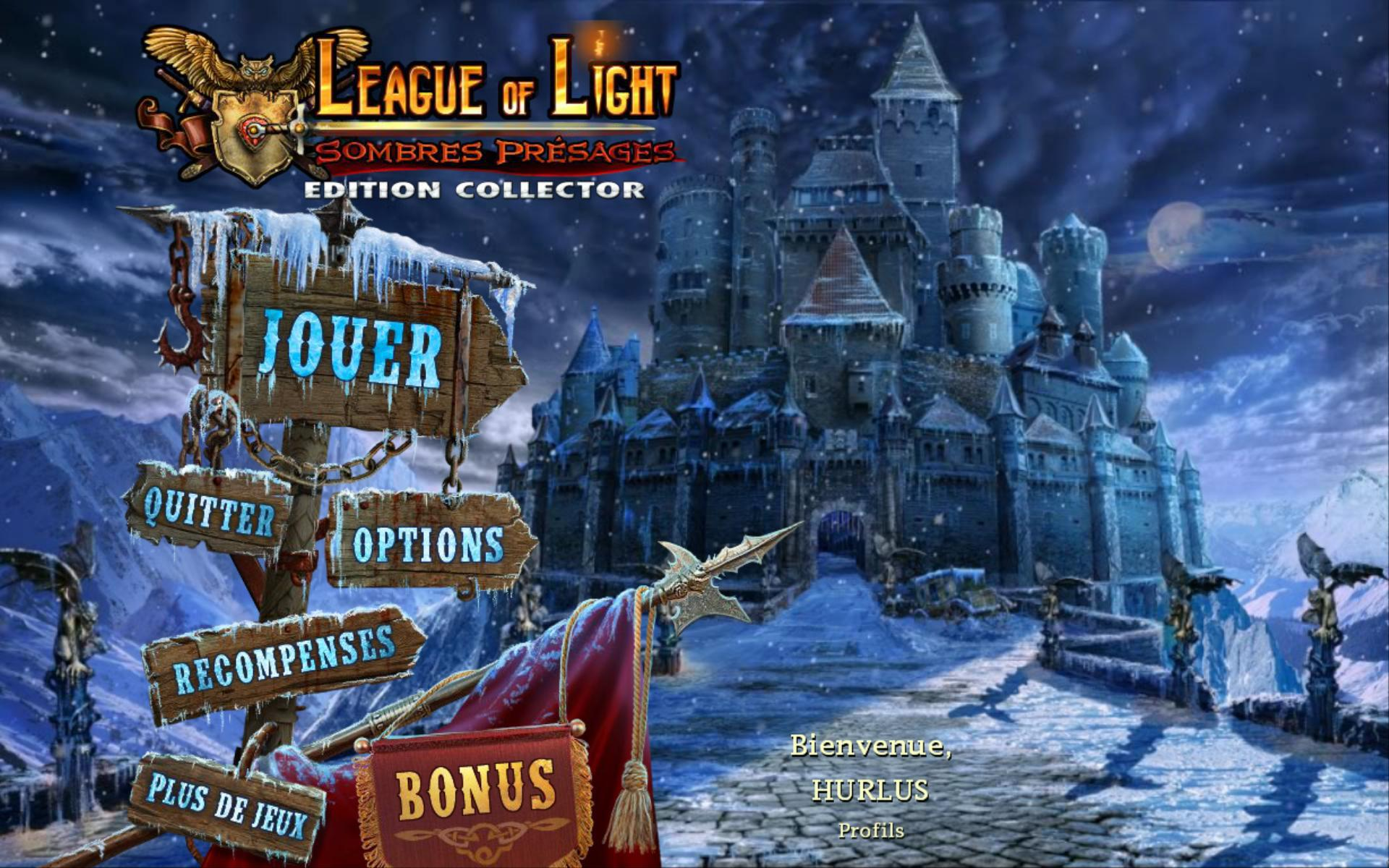 League of Light: Sombres Présages Edition Collector [PC] [MULTI]