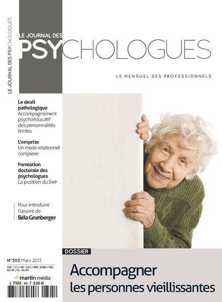Le Journal des Psychologues No.305