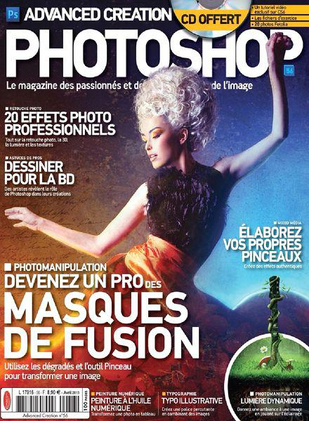 Advanced Creation Photoshop Magazine No.56