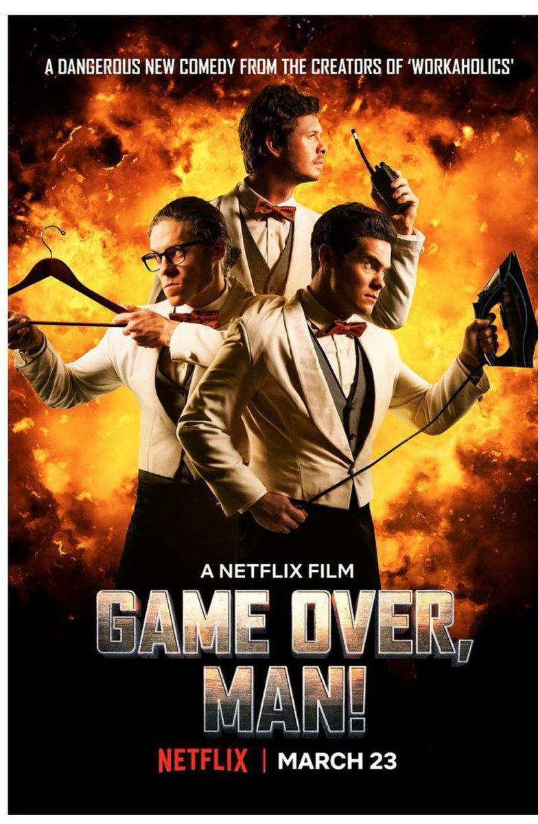 Game Over, Man! (Vostfr)