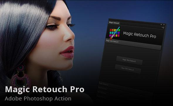 Magic Retouch Pro v3.4 for Adobe Photoshop CS5 - CC 2015.5