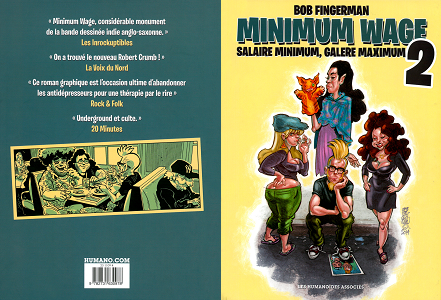 Minimum Wage - Tome 2 - Salaire Minimum, Galère Maximum