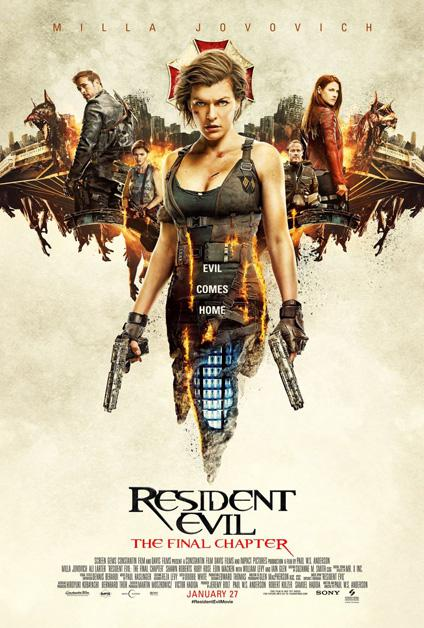 Resident Evil : Chapitre Final (Vostfr)