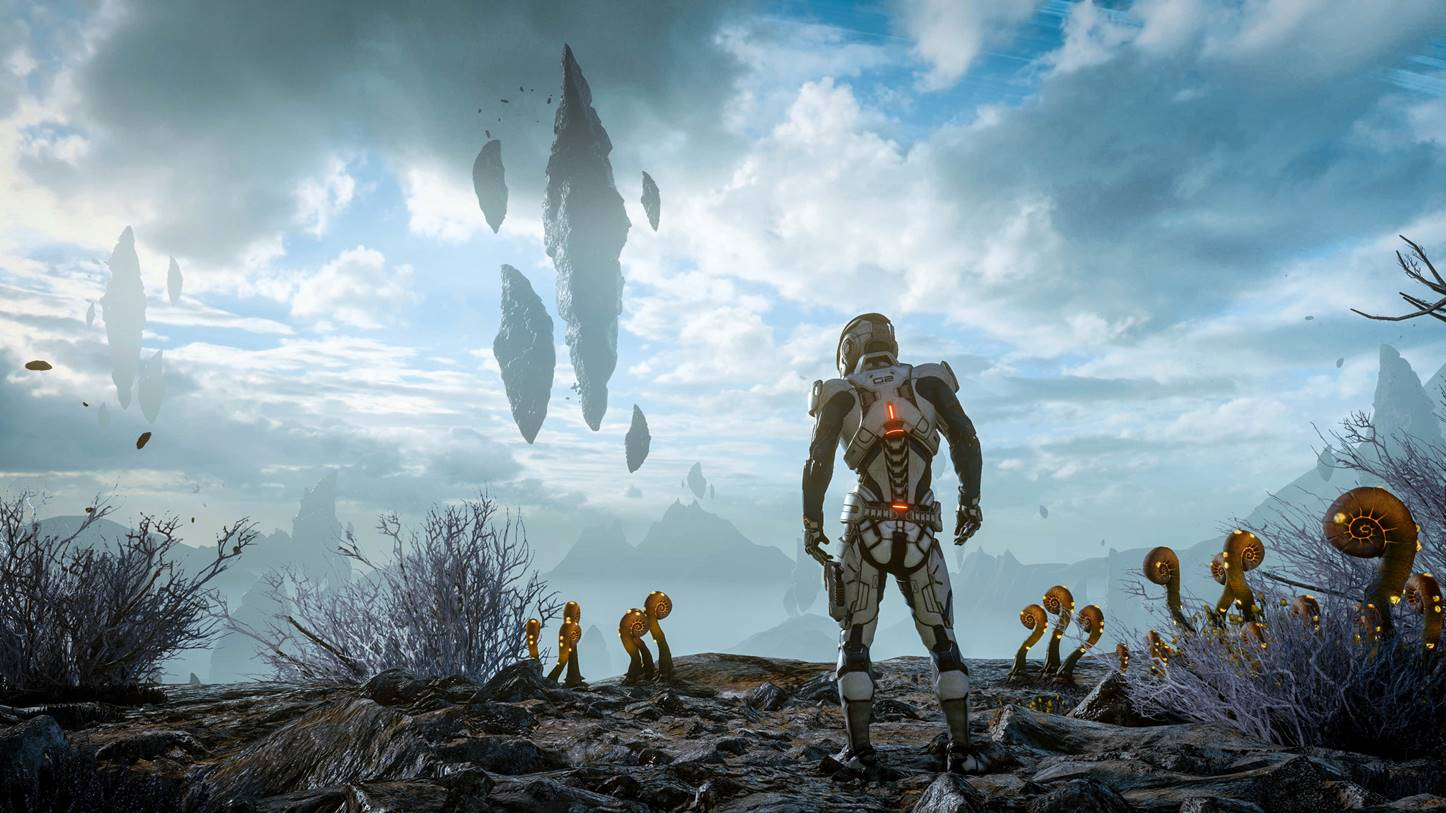 Mass Effect Andromeda Graphisme