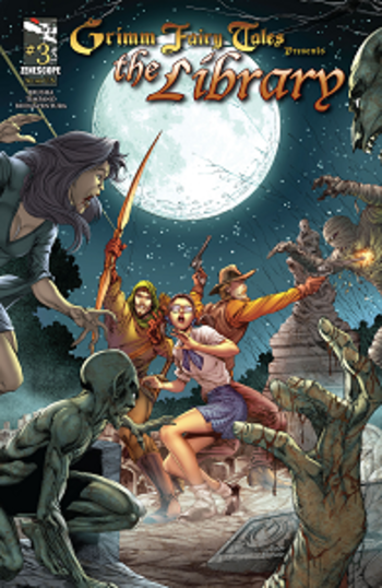 Grimm Fairy Tales Presents - The Library - Tome 3