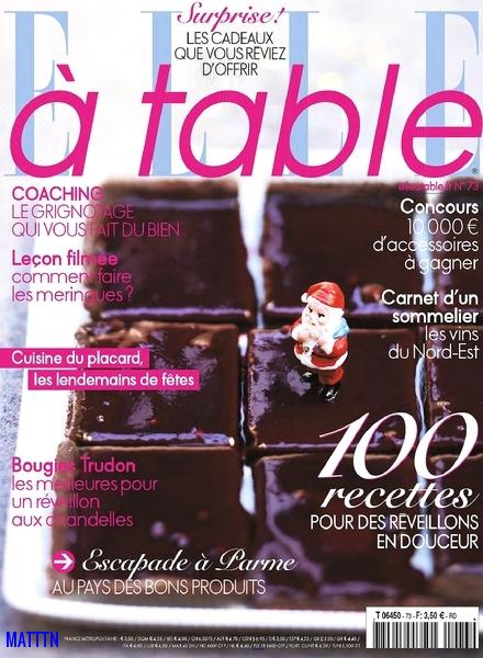 Elle a table No.73