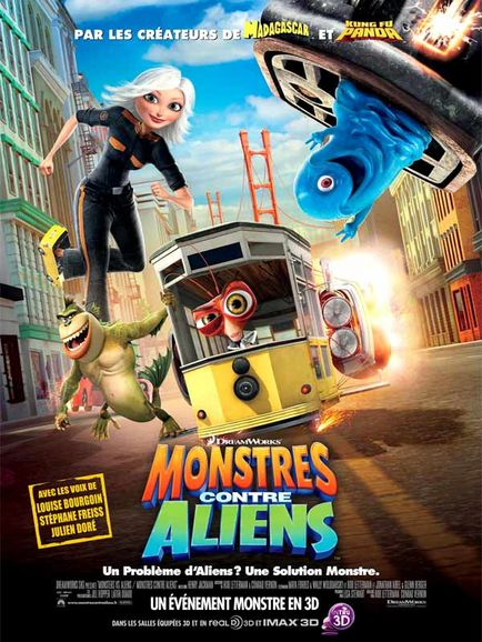 Monstres Contre Aliens [DVDRiP] [TRUEFRENCH] [MULTI]