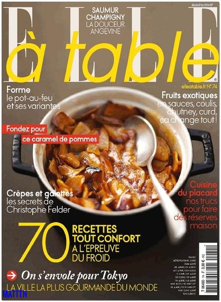 Elle a table No.74