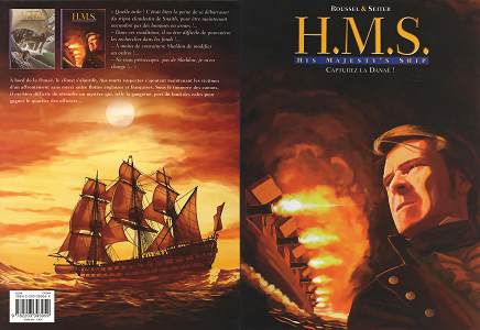 H.M.S. His Majesty's Ship [Tome 02] [BD]