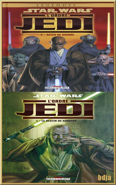 Star Wars L'Ordre Jedi Tomes 1 et 2 CBR PDF HD [COMIC][MULTI]