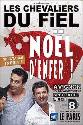 Les Chevaliers du Fiel : Spectacle-Noël d'enfer