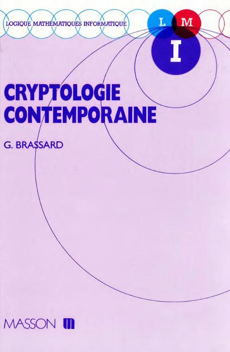 Cryptologie contemporaine