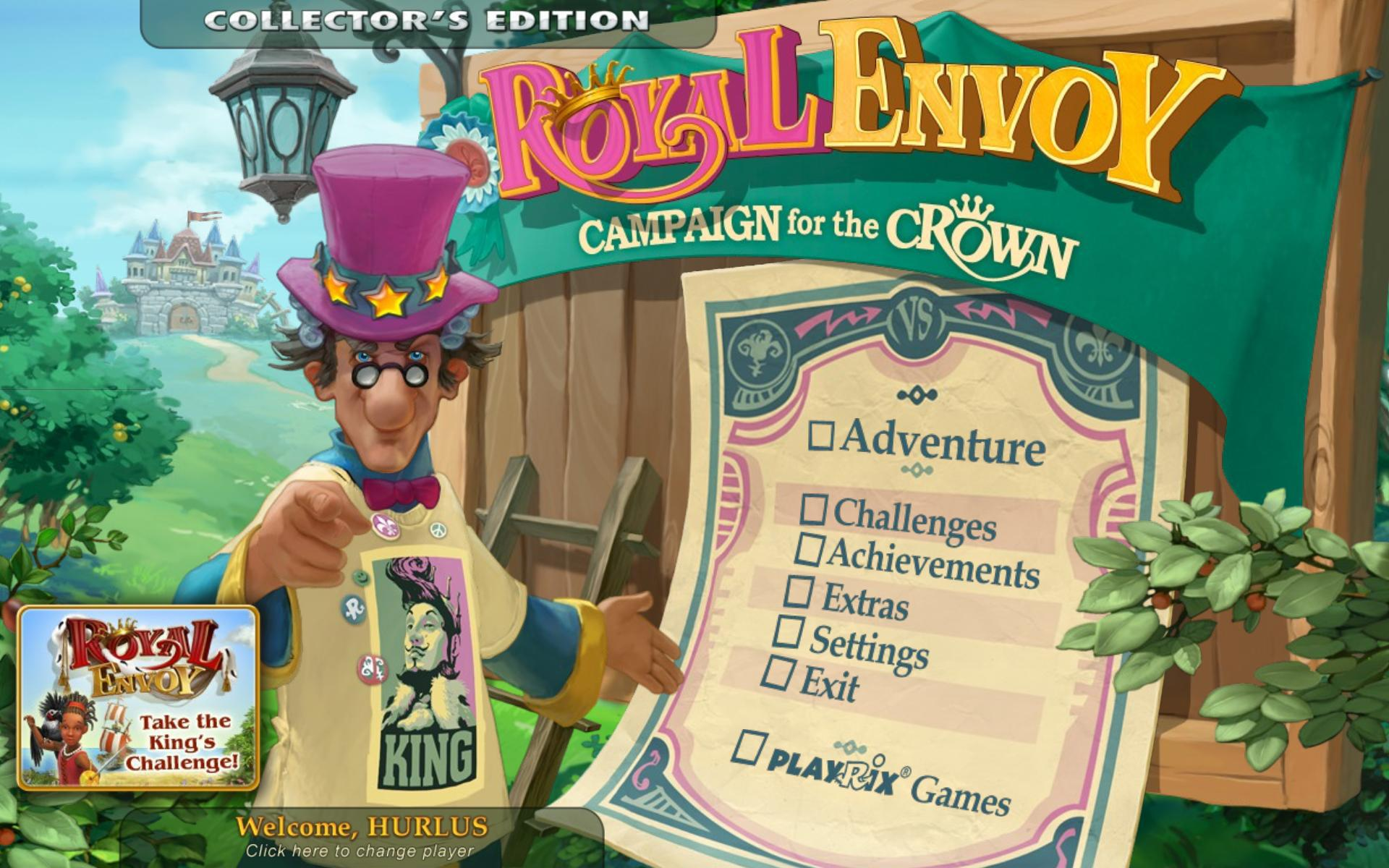 Royal Envoy: Campaign for the Crown Edition Collector[PC] [MULTI]