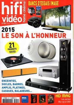 Hifi Video Home Cinema No.421 - Janvier-Février 2015