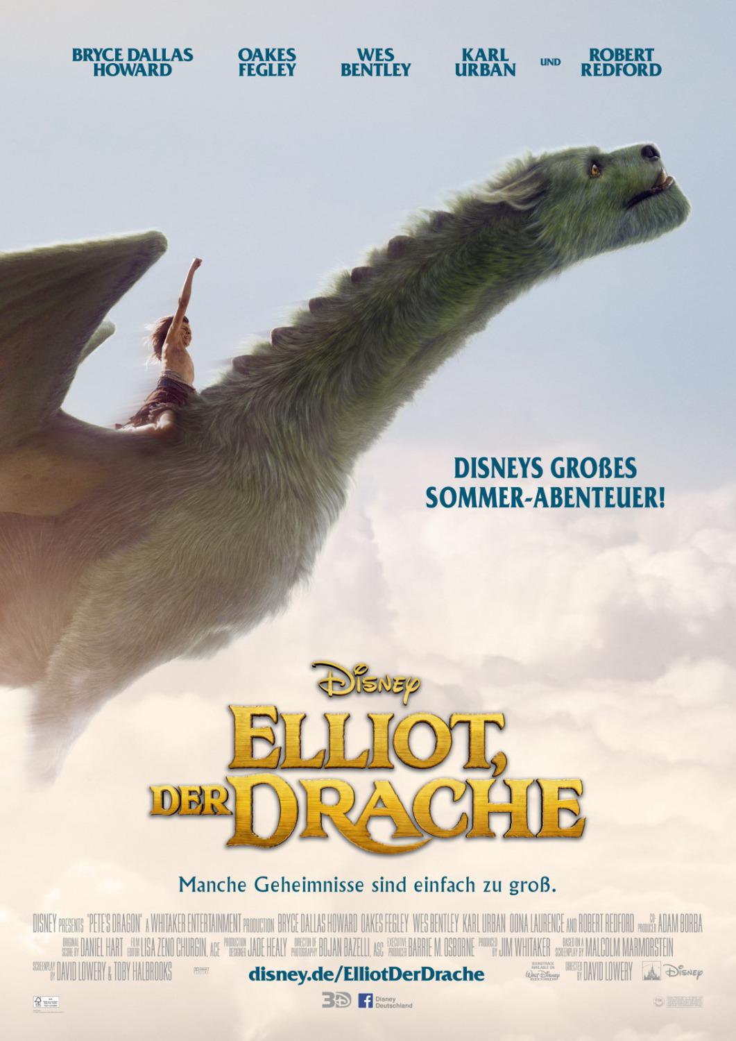 Peter et Elliott le dragon (Vostfr)