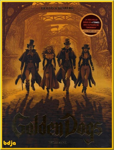 Golden Dogs Intégrale 4 Tomes PDF HD [BD][MULTI]
