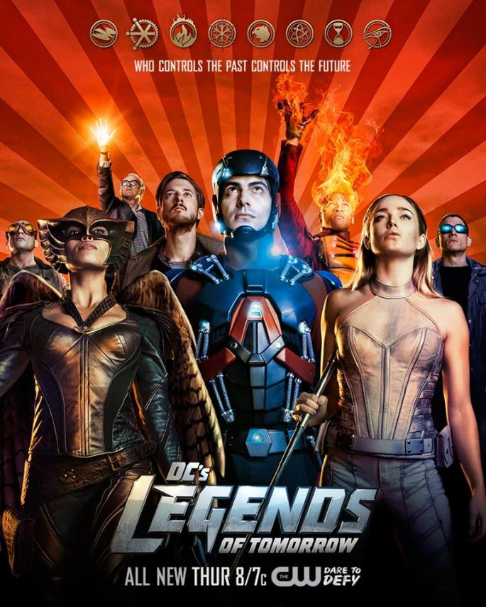 DC's Legends of Tomorrow – Saison 2 (Vostfr)